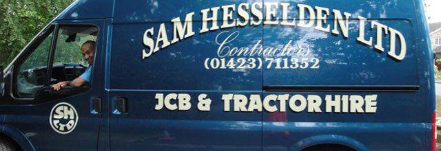 Sam Hesselden Limited van