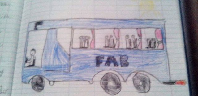 Fab bus drawing