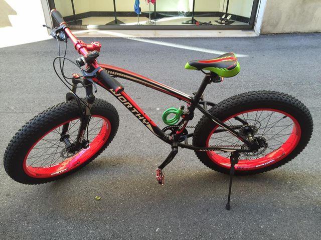 mountain bike fat tires