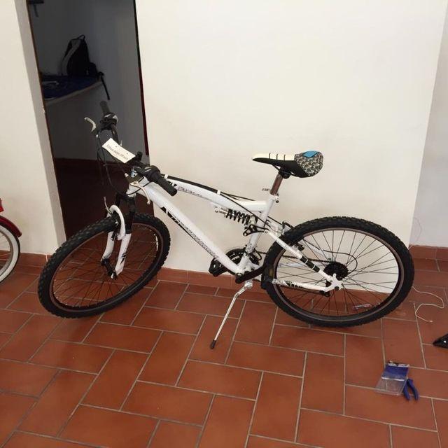 mountain bike bianca
