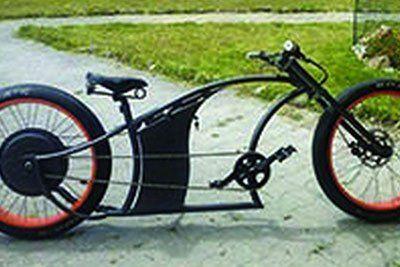 bicicletta personalizzata TECNO FABBRO -  LAVORI IN FERRO E INOX Liscate (MI)