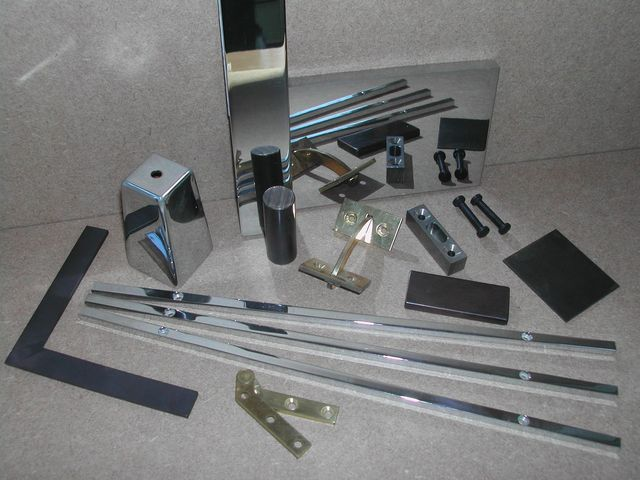 Range of bespoke metal fabrications