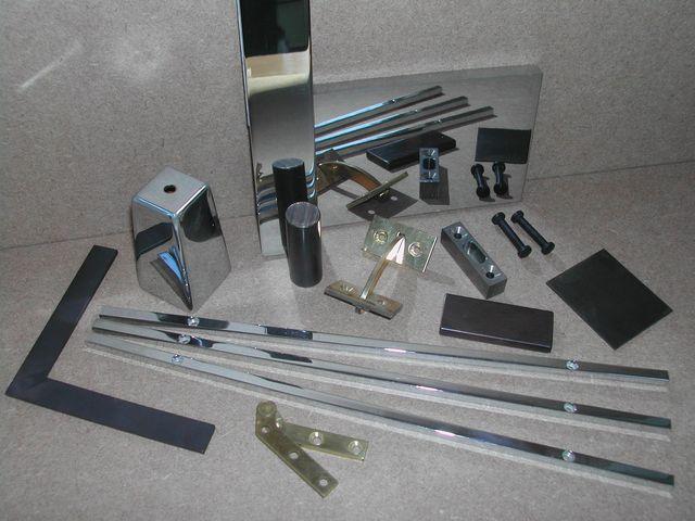 Range of bespoke metal fabrications