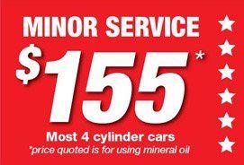 Minor Service Special