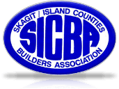 Skagit Island Counties Builders Association logo (sicba)