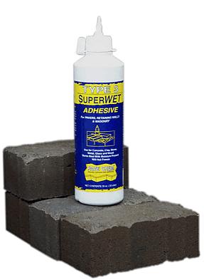Type 3 SuperWet Adhesive