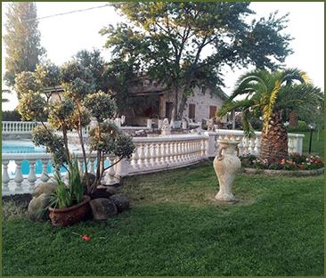 giardino attrezzato