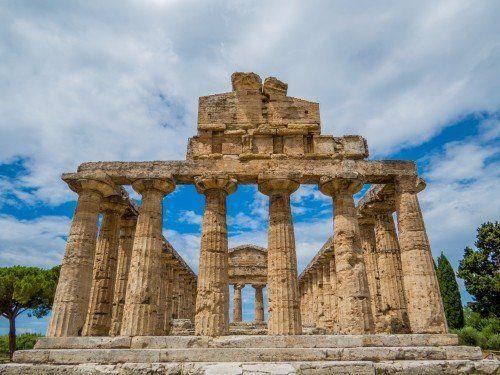 Antico tempio nel Cilento