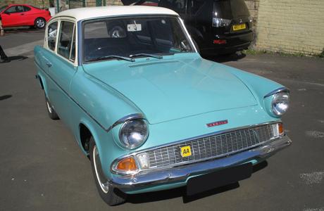 Classic Car Restoration Yorkshire Motors - Classic car motors