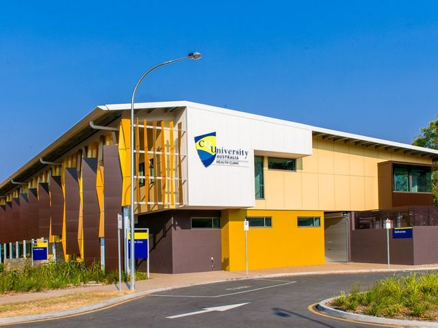 central queensland university small health clinic rockhampton