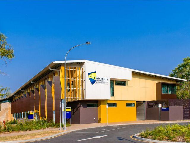 central queensland university small health clinic rockhampton