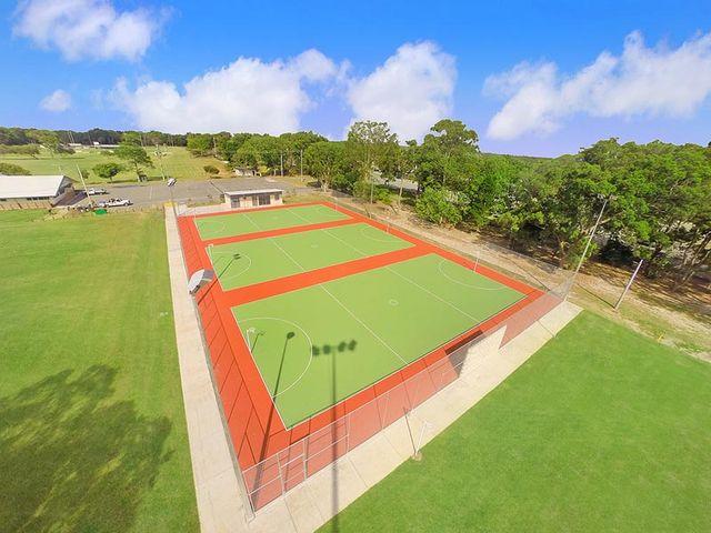 mbrc netball court bribie island reserve