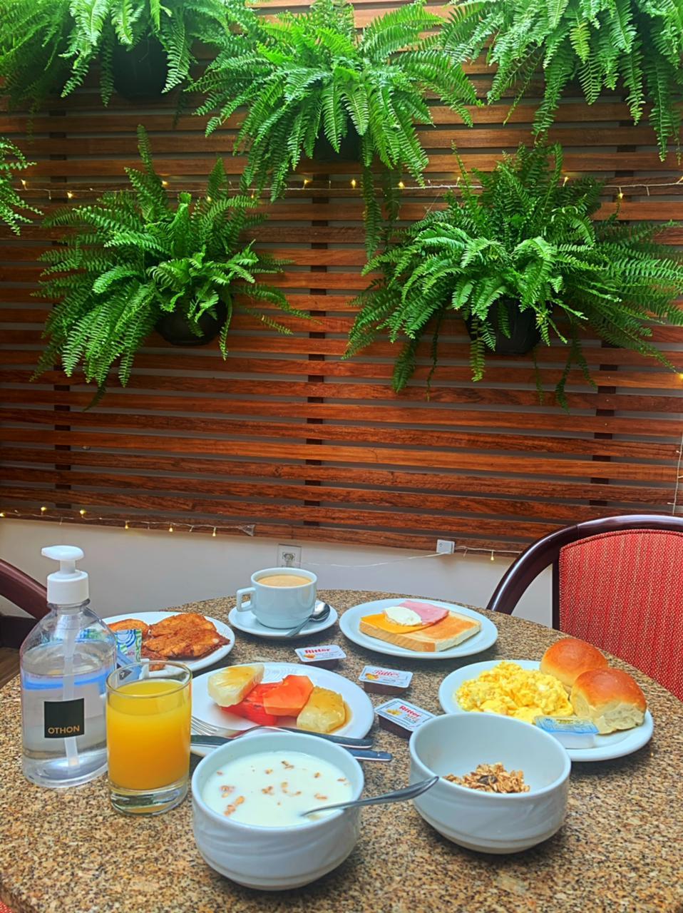 Othon Hoteis cafe