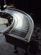 curved metallic deck