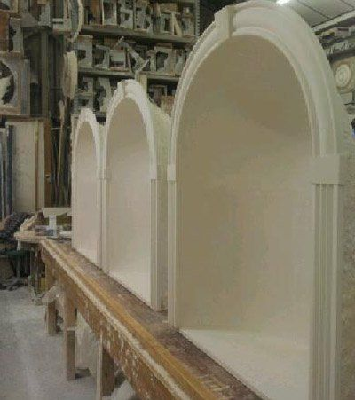 Fibrous Plaster Niches Manufactured In Hampshire