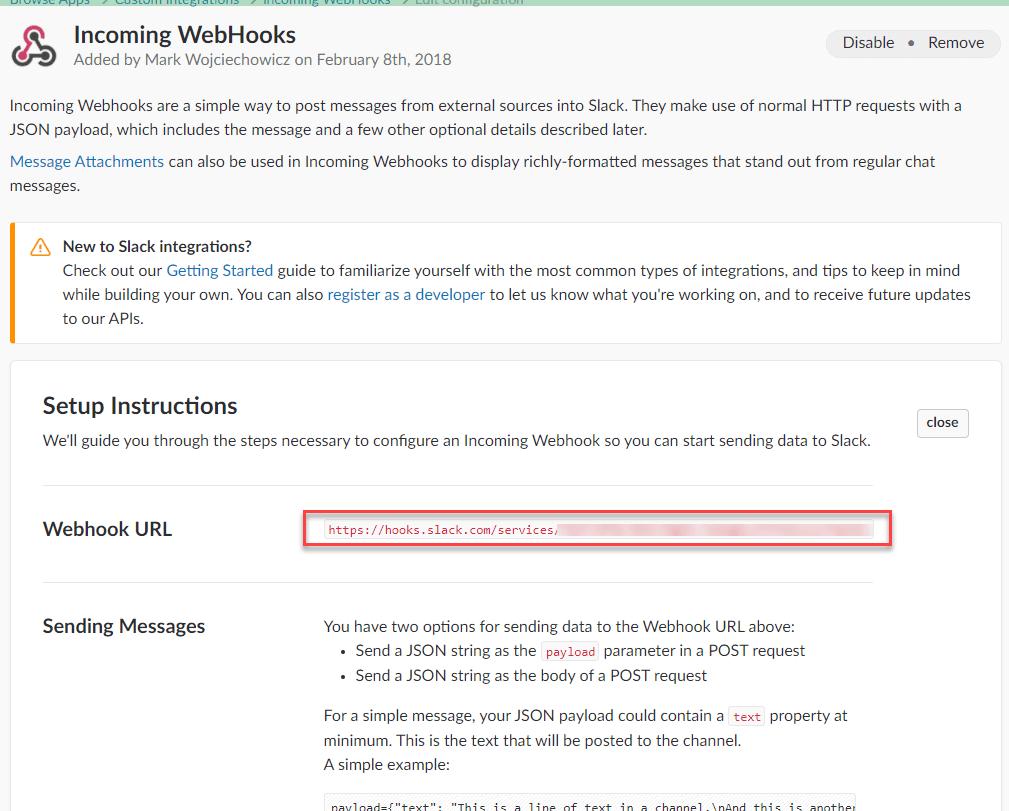 Posting to #Slack from SQL Agent
