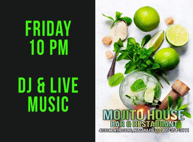 Latin Club Mojito House Niagara Falls