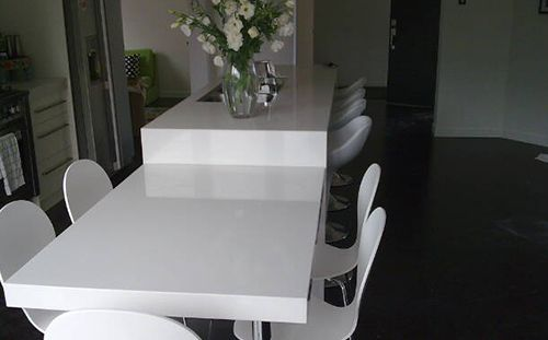 bespoke acrylic counter tops in Tauranga