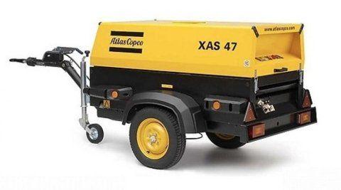 Motocompressore Atlas Copco XAS 47