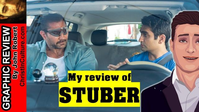 STUBER (2019) Graphic Review