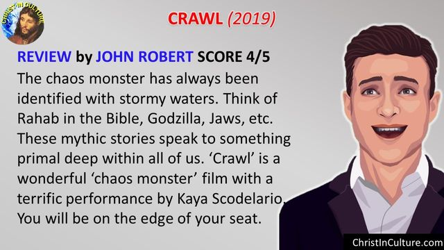 CRAWL (2019) Graphic Review