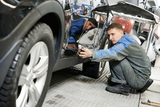 Collision repair taking place in Staunton, VA