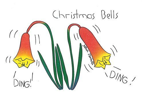 Christmas Bells drawing