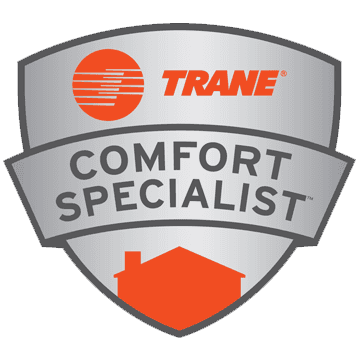 Trane Comfort Specialist Badge - Salina, Kansas