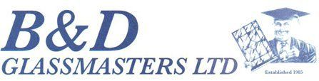 B & D Glassmasters logo