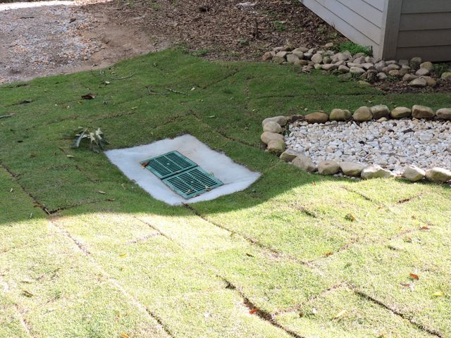 Drainage system as part of landscaping service in Enterprise, AL