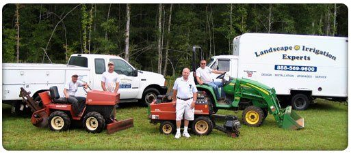 Our team for landscape irrigation in Enterprise, AL