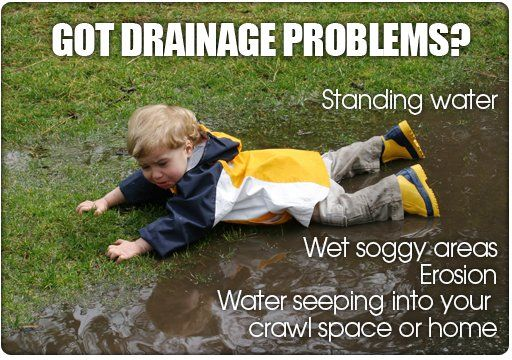 Drainage problems