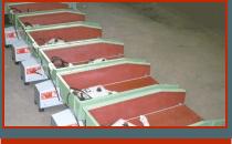 gauge roller conveyors