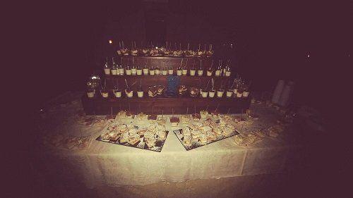 un buffet di dessert