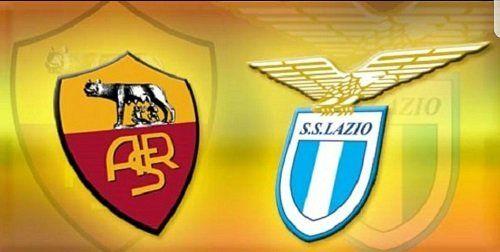 lo scudetto delle squadre di calcio Roma e Lazio