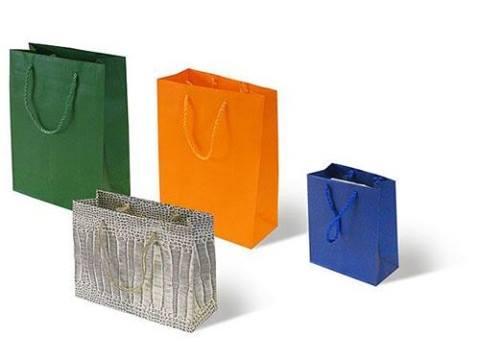 sacchetti in carta con impugnatura in corda