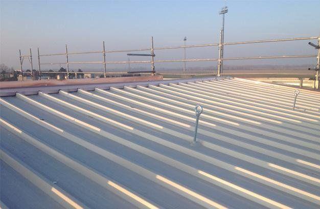 tetti in metallo