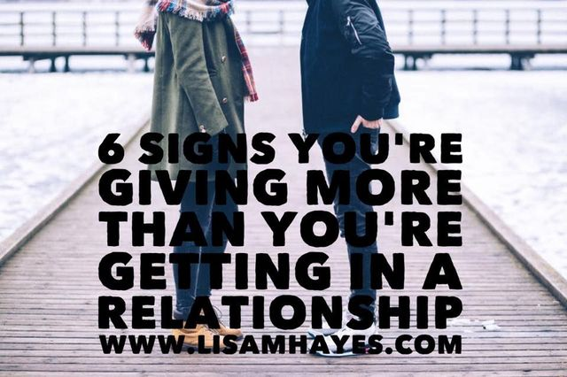 1f78cfff893c 6 Signs You re Giving More Than Your Getting In A Relationship