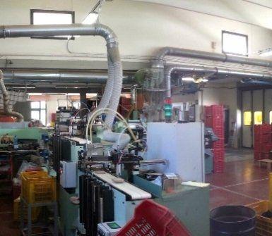 laboratorio per lavorazioni industriali