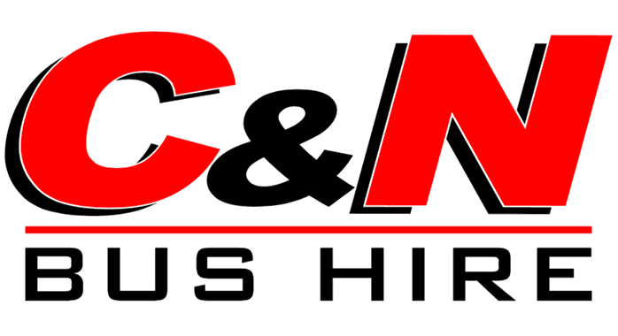 C & N BUS HIRE logo