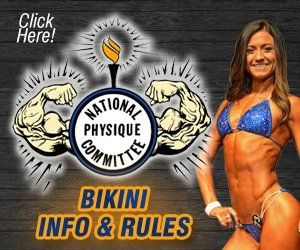 NPC Ms Buffalo Bikini Info and Rules
