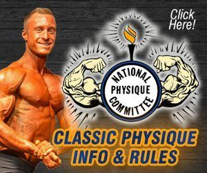 NPC Mr Buffalo Classic Physique Info and Rules