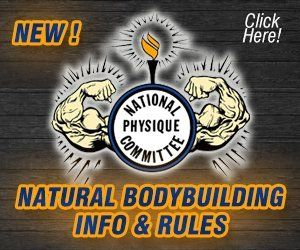NPC Mr Buffalo Natural Bodybuilding Info and Rules