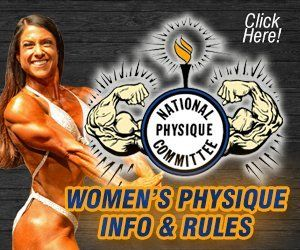 NPC Ms Buffalo Physique Info and Rules