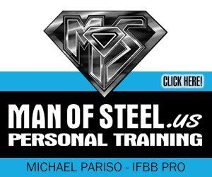 Mr and Ms Buffalo Sponsor, Man of Steel Personal Training