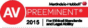 Martindale-Hubbell AV Preeminent 2015