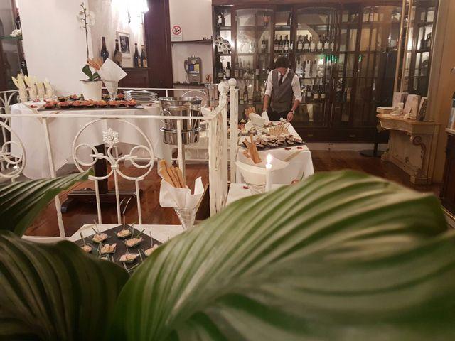 Banchetto curato dal ristorante Bottega Mia a Torino
