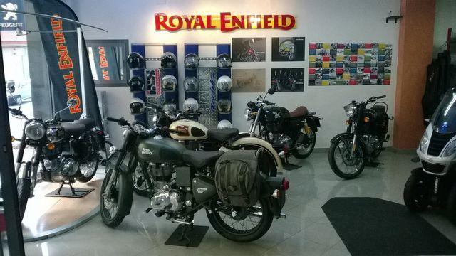 Moto della marca Royal Enfield