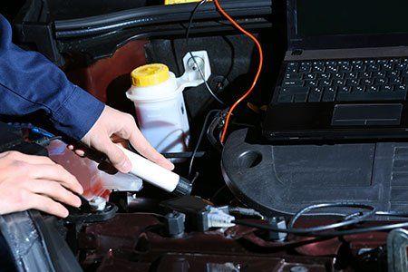 controllo elettronico del motore