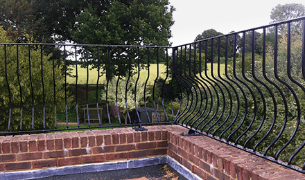 custom design railings